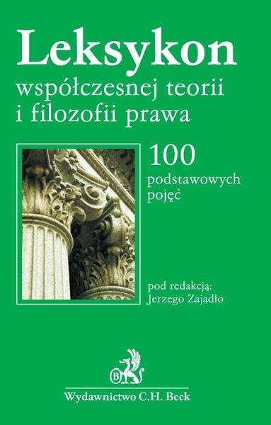 Leksykon współczesnej filozofii prawa