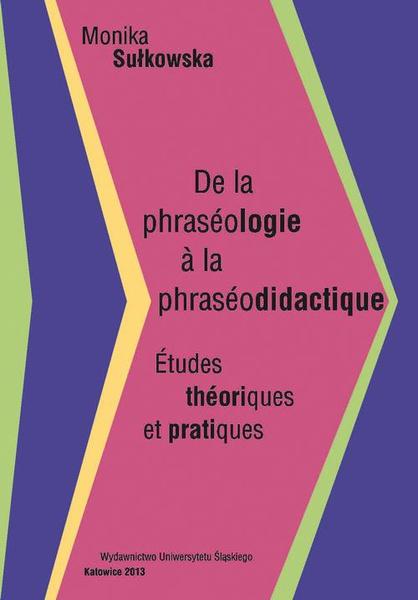 De la phraséologie à la phraséodidactique