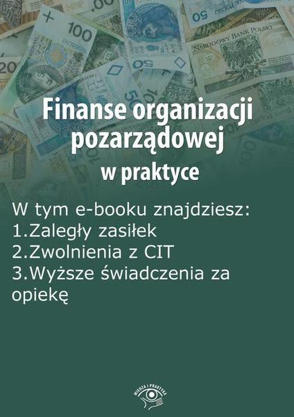 Finanse organizacji pozarządowej w praktyce, wydanie maj 2014 r.