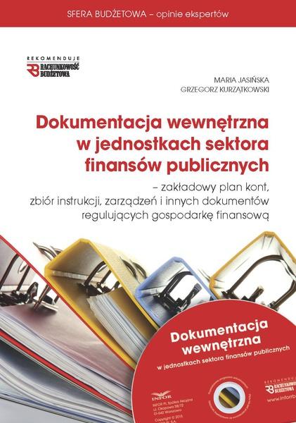 Dokumentacja wewnętrzna w jednostkach sektora finansów publicznych 2015