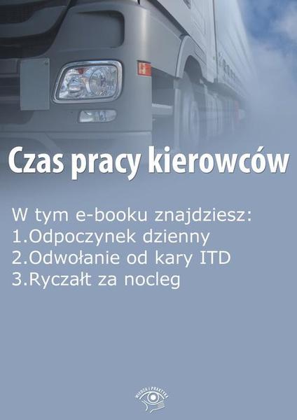 Czas pracy kierowców, wydanie grudzień 2014 r.