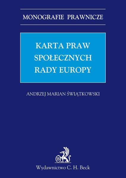 Karta praw społecznych Rady Europy