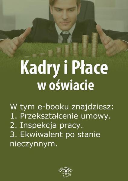 Kadry i Płace w oświacie, wydanie kwiecień 2014 r.