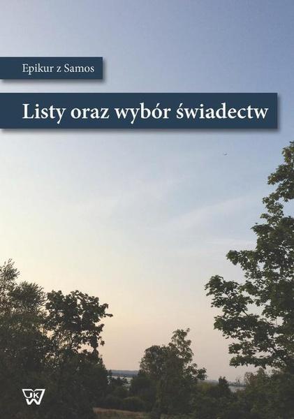 Listy oraz wybór świadectw