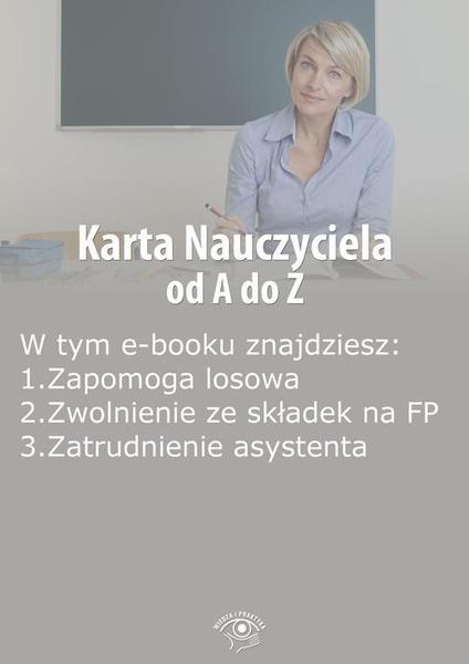 Karta Nauczyciela od A do Z, wydanie sierpień 2014 r.