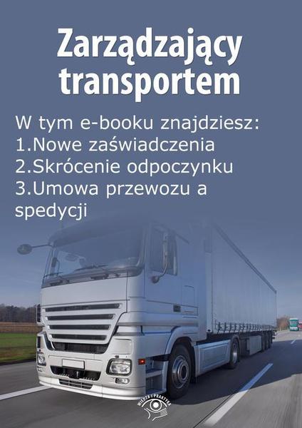 Zarządzający transportem, wydanie czerwiec 2014 r.