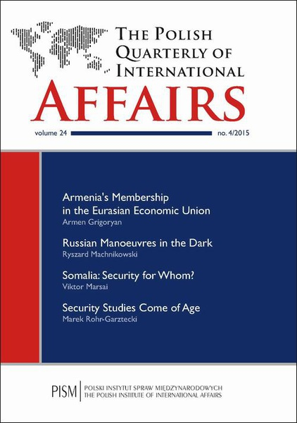 The Polish Quarterly of International Affairs nr 4/2015