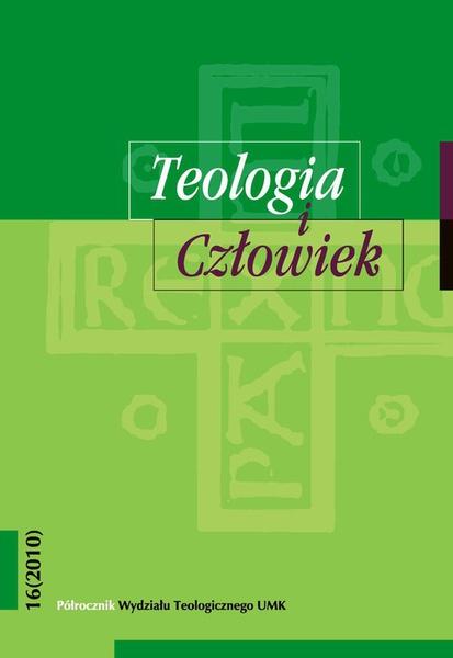 Teologia i Człowiek, nr 16 (2010)