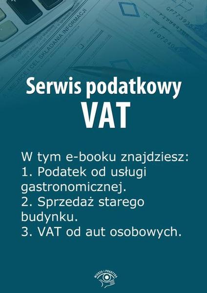 Serwis podatkowy VAT, wydanie lipiec 2014 r.