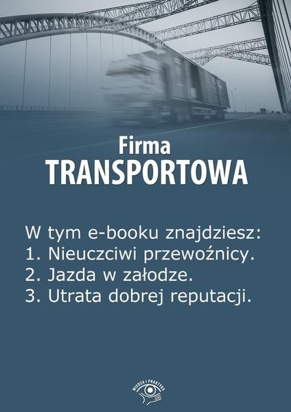Firma transportowa. Wydanie lipiec 2014 r.