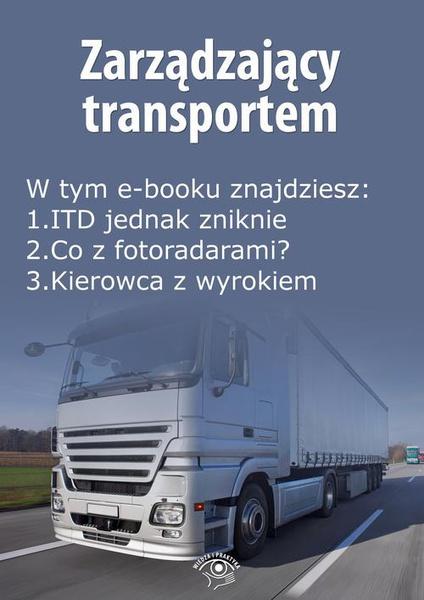 Zarządzający transportem, wydanie marzec 2016 r.