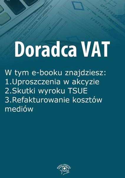 Doradca VAT, wydanie sierpień 2015 r.