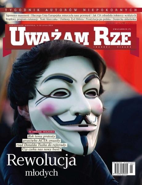 """""""Uważam Rze. Inaczej pisane"""" nr 5/2013"""