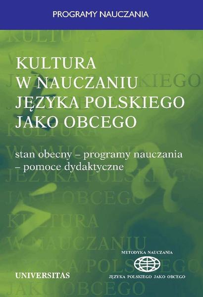 Kultura w nauczaniu języka polskiego jako obcego