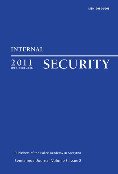 Internal Security, July-December 2011