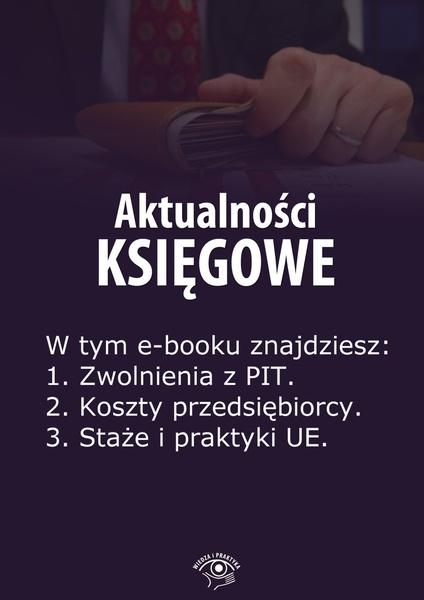 Aktualności księgowe. Wydanie specjalne lipiec-wrzesień 2014 r.