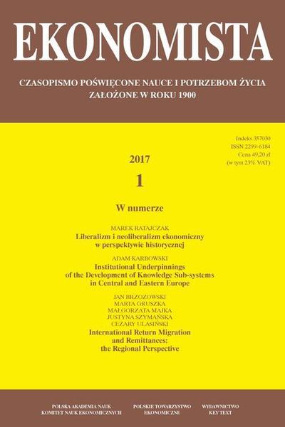 Ekonomista 2017 nr 1