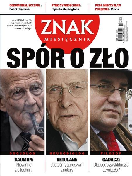 Miesięcznik Znak. Listopad 2012