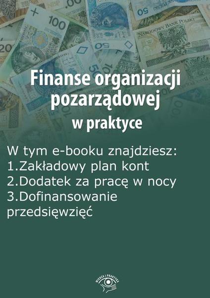 Finanse organizacji pozarządowej w praktyce, wydanie listopad 2014 r.