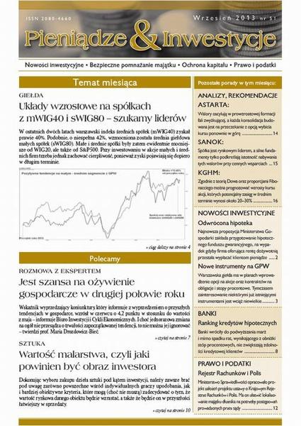 Pieniądze i Inwestycje wrzesień 2013 nr 51