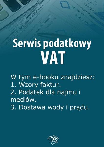 Serwis podatkowy VAT, wydanie specjalne lipiec-wrzesień 2014 r.