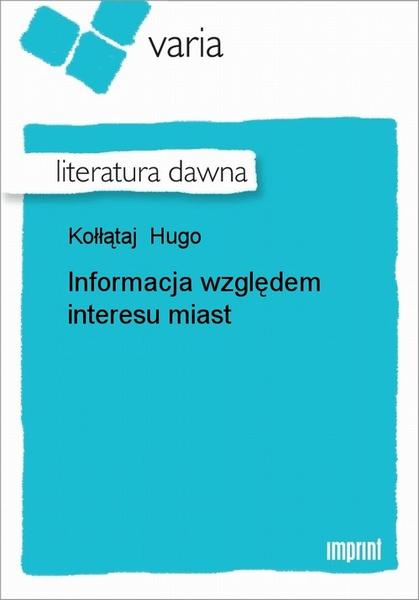 Informacja Względem Interesu Miast