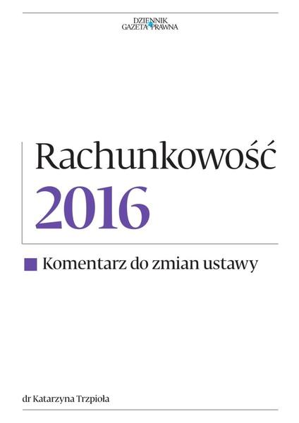 Rachunkowość 2016