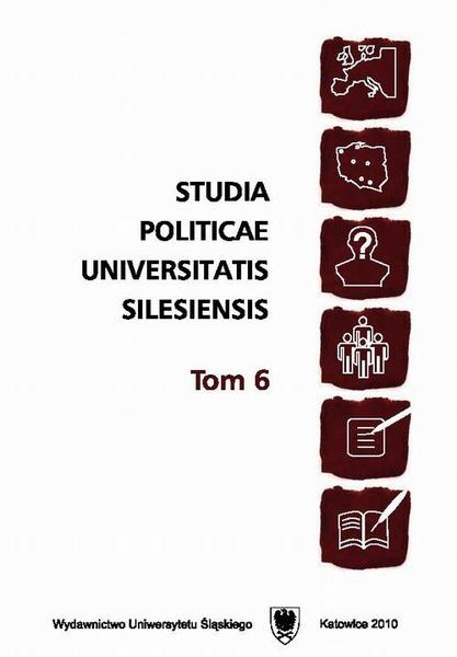 Studia Politicae Universitatis Silesiensis. T. 6