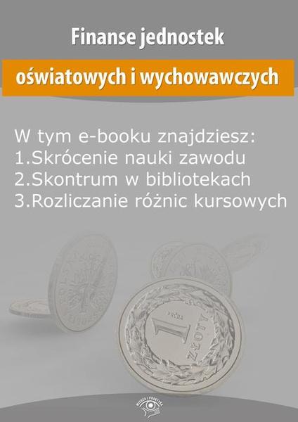Finanse jednostek oświatowych i wychowawczych, wydanie kwiecień 2015 r.