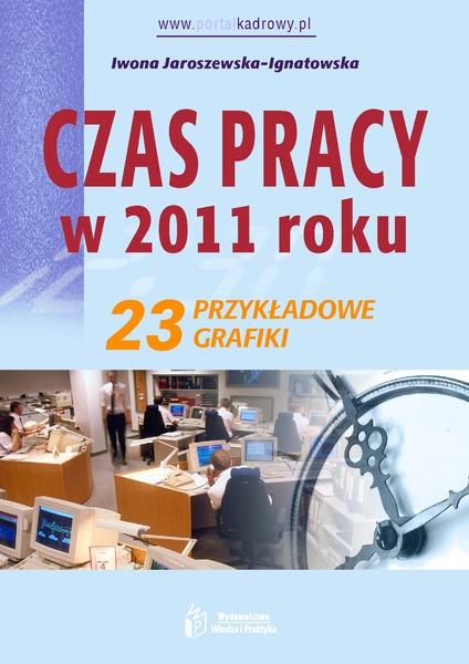 Czas pracy w 2011 roku. 23 przykładowe grafiki