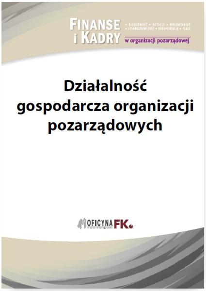 Działalność gospodarcza organizacji pozarządowych