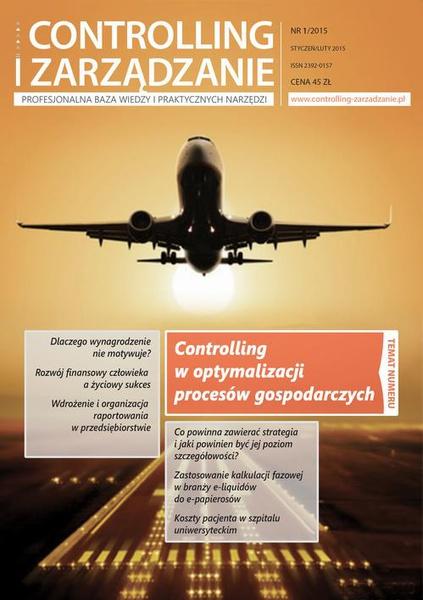 Controlling i Zarządzanie (nr 1/2015)