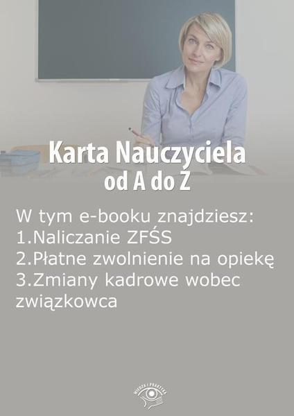 Karta Nauczyciela od A do Z, wydanie maj 2014 r.