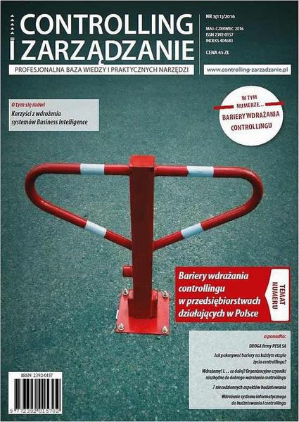 Controlling i Zarządzanie (nr 3/2016)