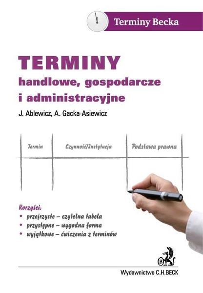 Terminy handlowe, gospodarcze i administracyjne