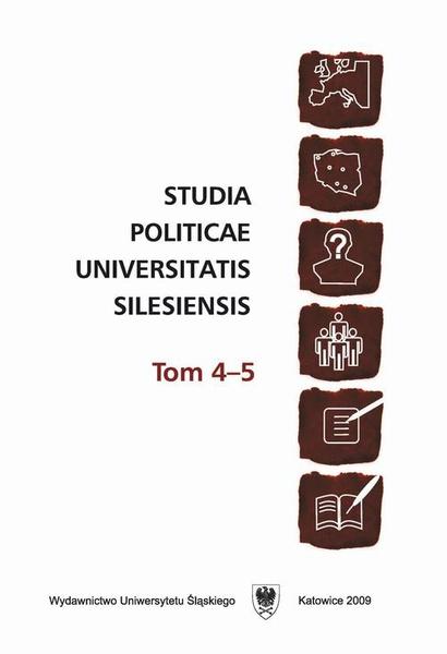 Studia Politicae Universitatis Silesiensis. T. 4–5