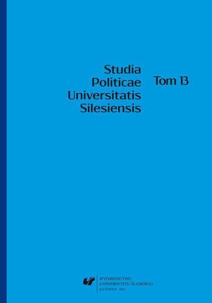Studia Politicae Universitatis Silesiensis. T. 13