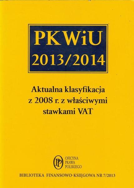 PKWiU 2013/2014
