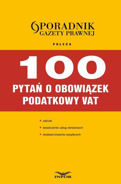 100 pytań o obowiązek podatkowy