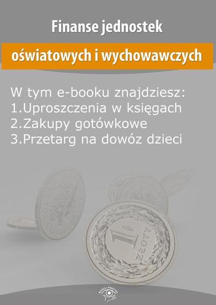 Finanse jednostek oświatowych i wychowawczych, wydanie maj 2015 r.