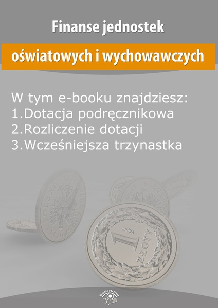 Finanse jednostek oświatowych i wychowawczych, wydanie listopad 2014 r.