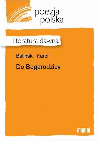 Do Bogarodzicy