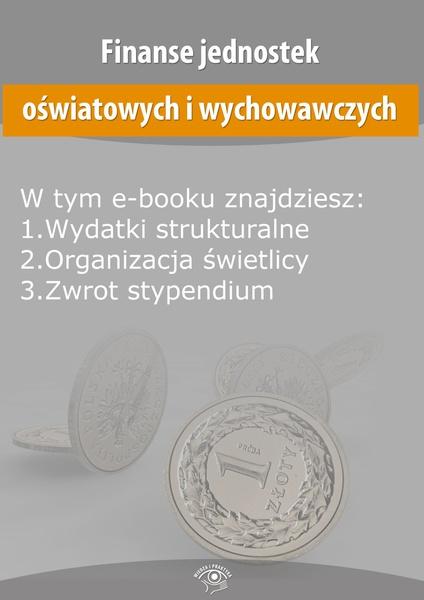 Finanse jednostek oświatowych i wychowawczych, wydanie kwiecień 2014 r.