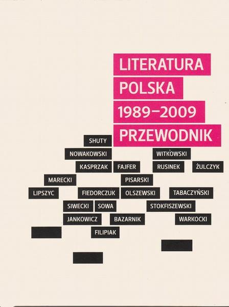 Literatura polska 1989-2009