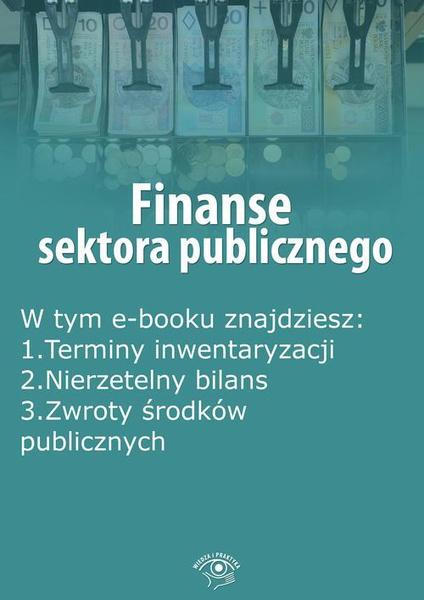 Finanse sektora publicznego, wydanie listopad 2015 r.