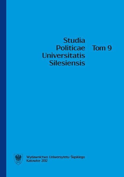 Studia Politicae Universitatis Silesiensis. T. 9