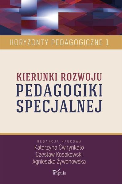 Kierunki rozwoju pedagogiki specjalnej