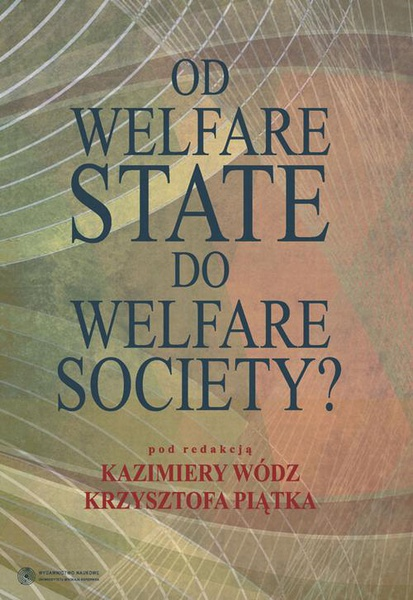 "Od ""welfare state"" do ""welfare society""?"