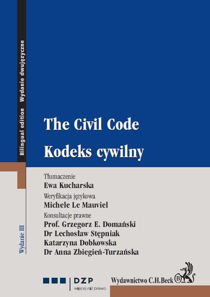 Kodeks cywilny. The Civil Code