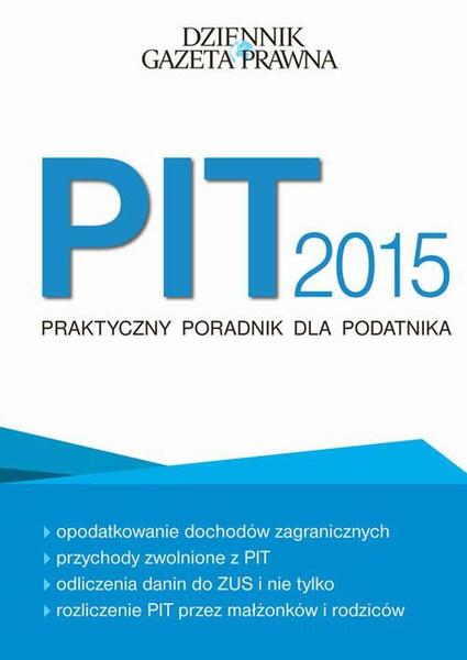PIT2015 praktyczny poradnik dla podatnika